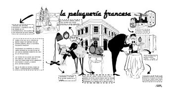 La peluquería francesa - Ana Pérez López